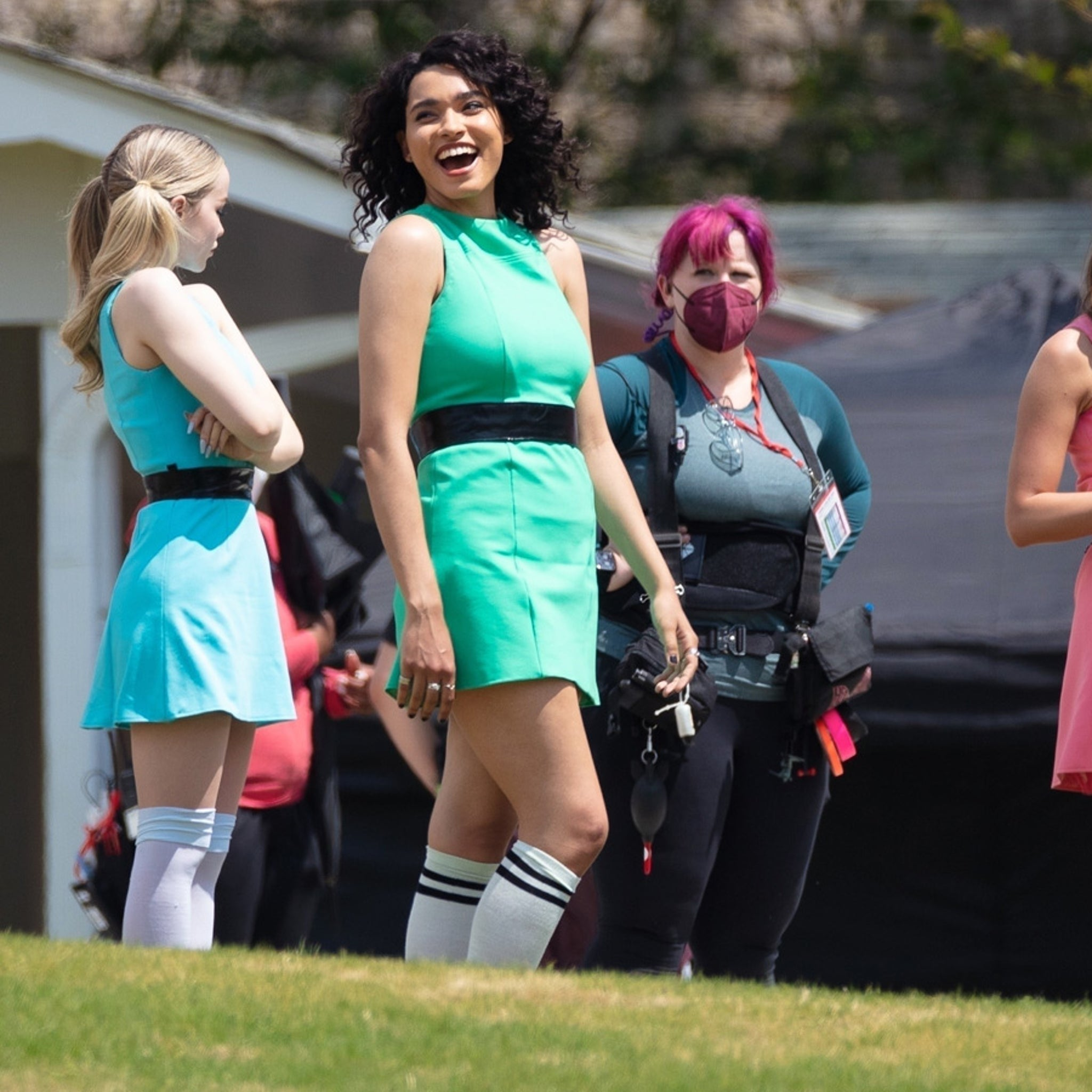 Powerpuff Girls' Stars Shooting New Live Action Show, Blossom Goes ...
