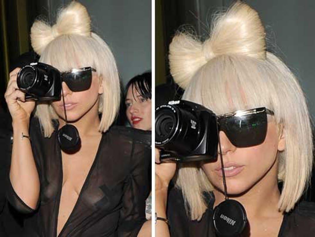 Lady Gaga X Marks The Nipple