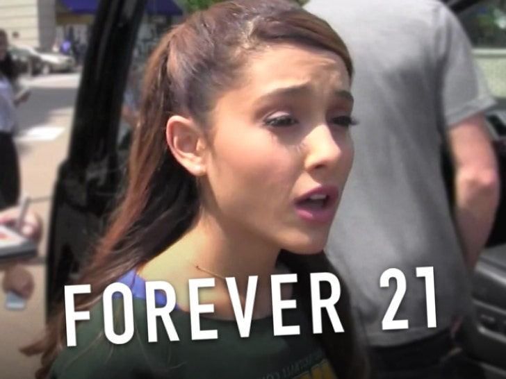 Ariana Grande Sues Forever 21 For Using Her Image Without Permission