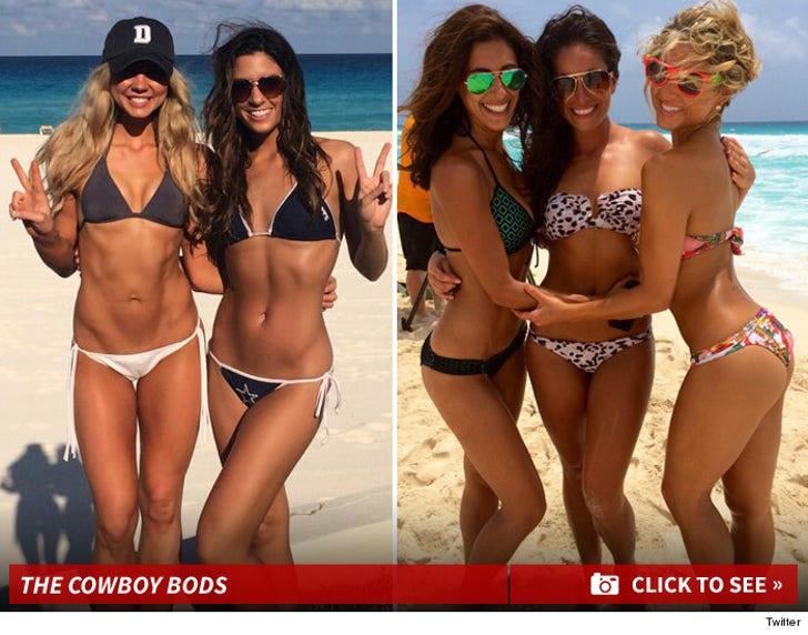 Dallas Cowboys Cheerleaders -- Strippin' Down In Cancun