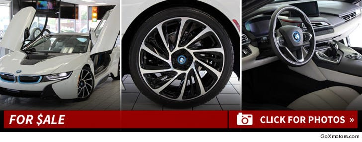Bow Wow's BMW i8 -- For $ALE!