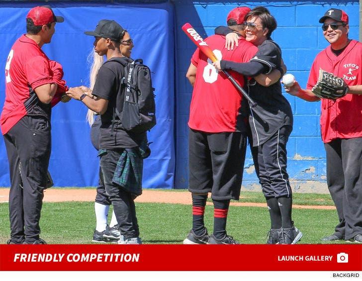 Kardashians vs. Jacksons Softball Game