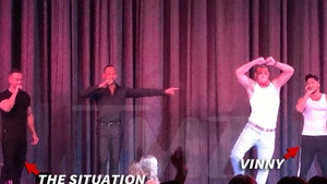 Mike 'The Situation' Sorrentino Makes Chippendales Debut, As a Judge