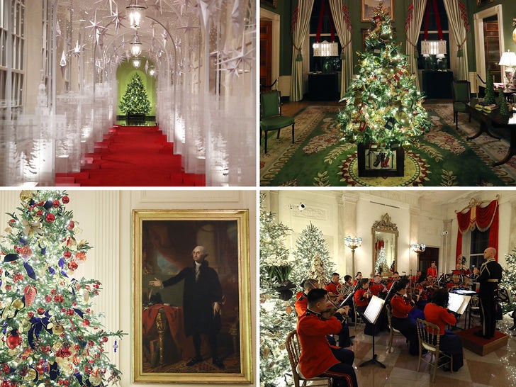 White House Christmas 2020 Decorations White House Christmas Decorations, Melania Unveils Patriotic Theme