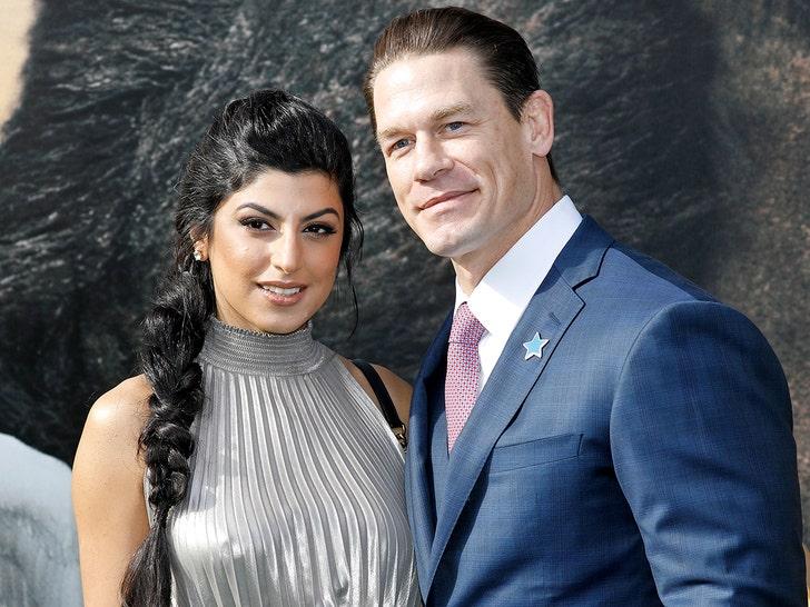 John Cena Marries Shay Shariatzadeh In Private Ceremony Marriage License Filed John cena wife, net worth, bio. john cena marries shay shariatzadeh in