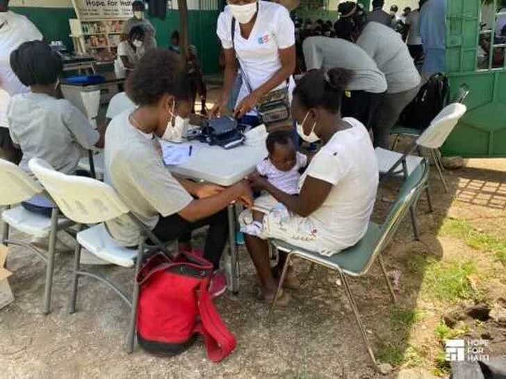 Hope For Haiti In Action