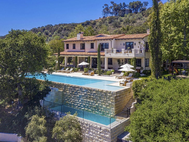 Justin Timberlake and Jessica Biel's Hollywood Hills Home