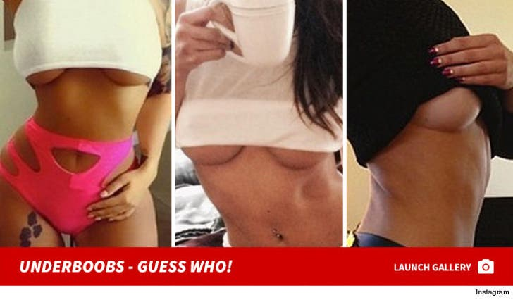 Underboobs -- Guess Who!