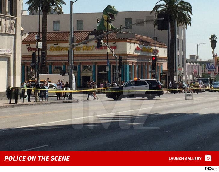 Young Dolph Shooting -- Police on the Scene