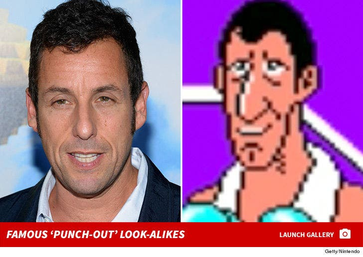 Famous 'Punch-Out' Look-Alikes