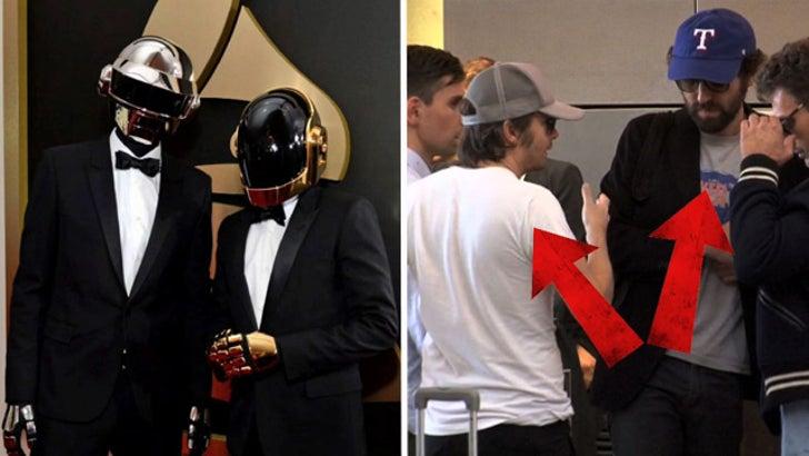 Daft Punk Helmet Heads Finally Exposed
