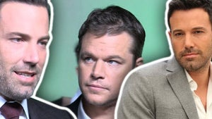 Ben Affleck's Junk -- No Big Deal ... to Matt Damon, Anyway