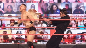 Bad Bunny Smashes The Miz with Guitar, Accepts 'WrestleMania' Challenge