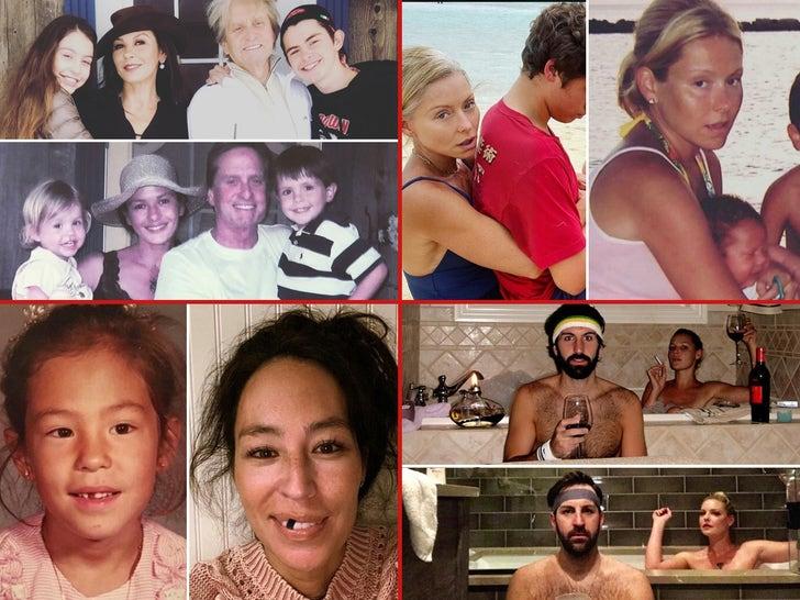 Celebrities Recreate Throwbacks -- Deja Vu!
