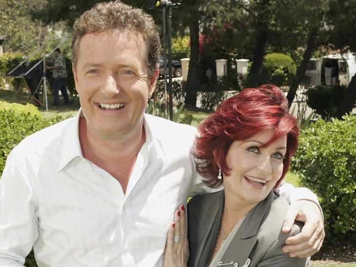 Sharon Osbourne and Piers Morgan Together