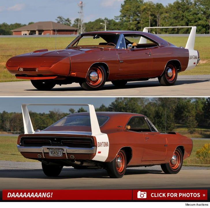 David Spade's Daytona Hemi -- Daaaaang!