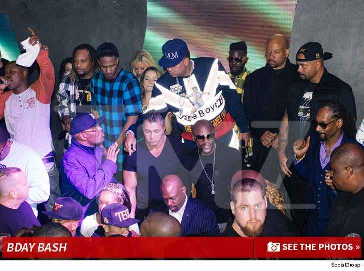 Too Short's Bday Bash at Lure Nightclub