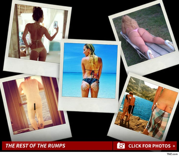 TMZ's Bangin' Backside Photo Contest -- Bootyful!