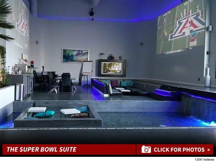 SF Super Bowl Suite -- The Inside Shots