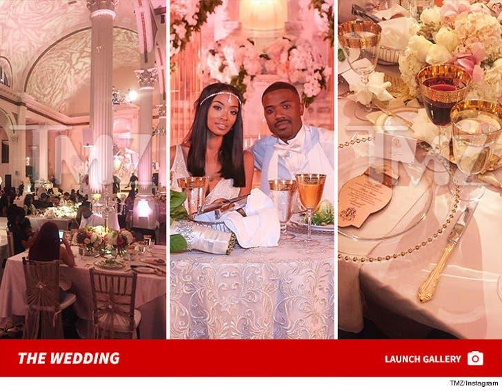 Ray J & Princess Love -- The Wedding
