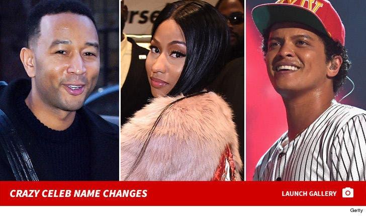 Crazy Celebrity Name Changes