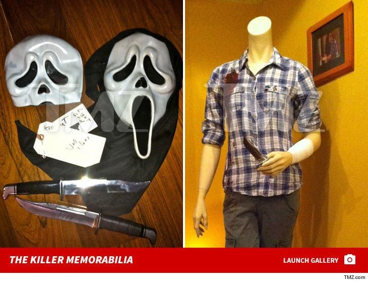 'Scream' Movie Stuff -- The Killer Memorabilia