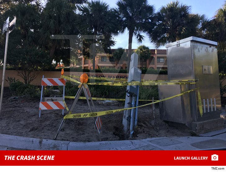 Brandon Gomes and Carson Wells' Crash Scene