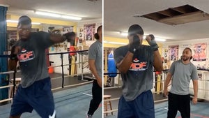 Jameis Winston Gets Boxing Lesson From Keith Thurman, 'Step Twist!'