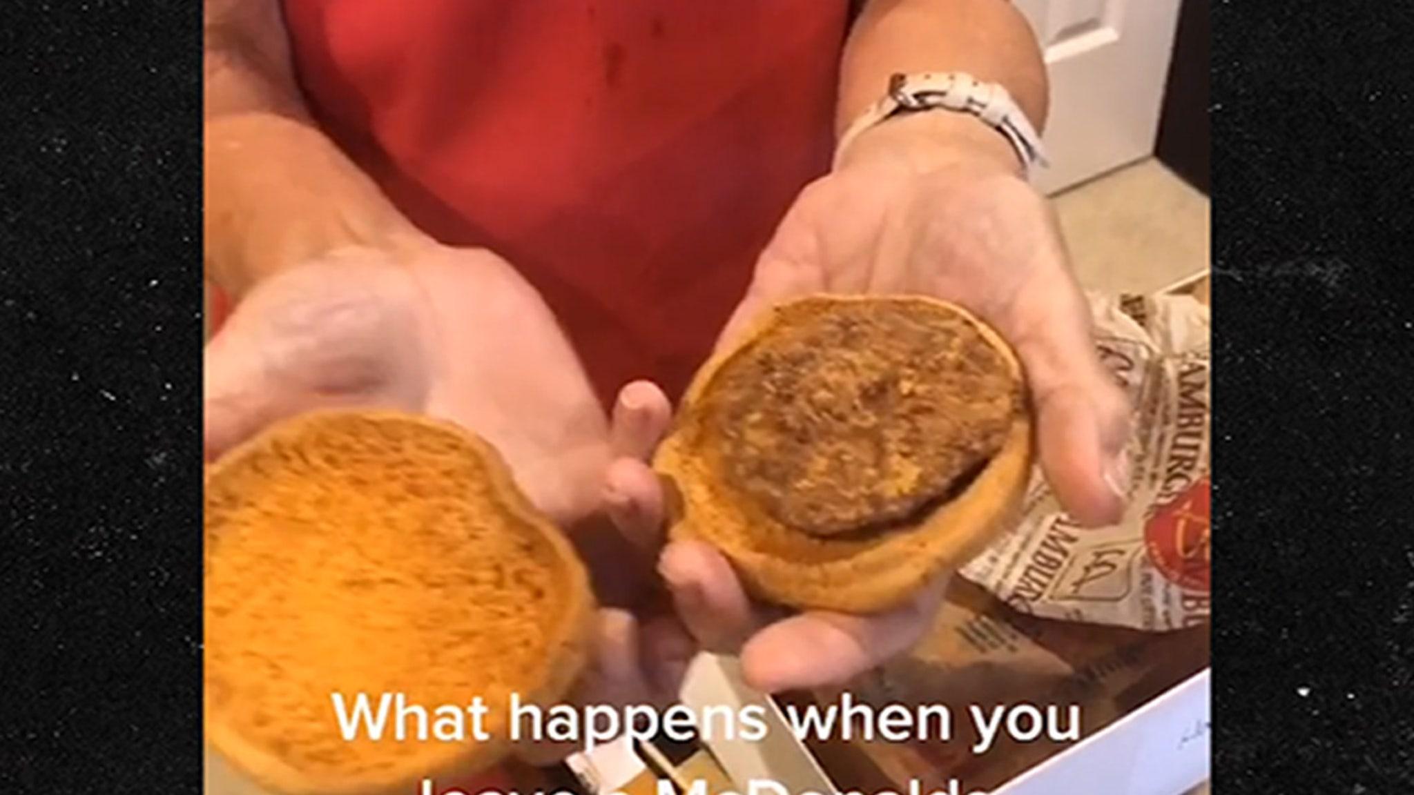 24 Year Old Mcdonald S Hamburger Still Looks Fresh