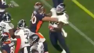 Titans' Rashaan Evans Sorry For Throwing Wild Haymaker At Broncos Player