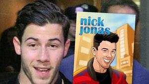 Nick Jonas To Become Comic Book Inspiration