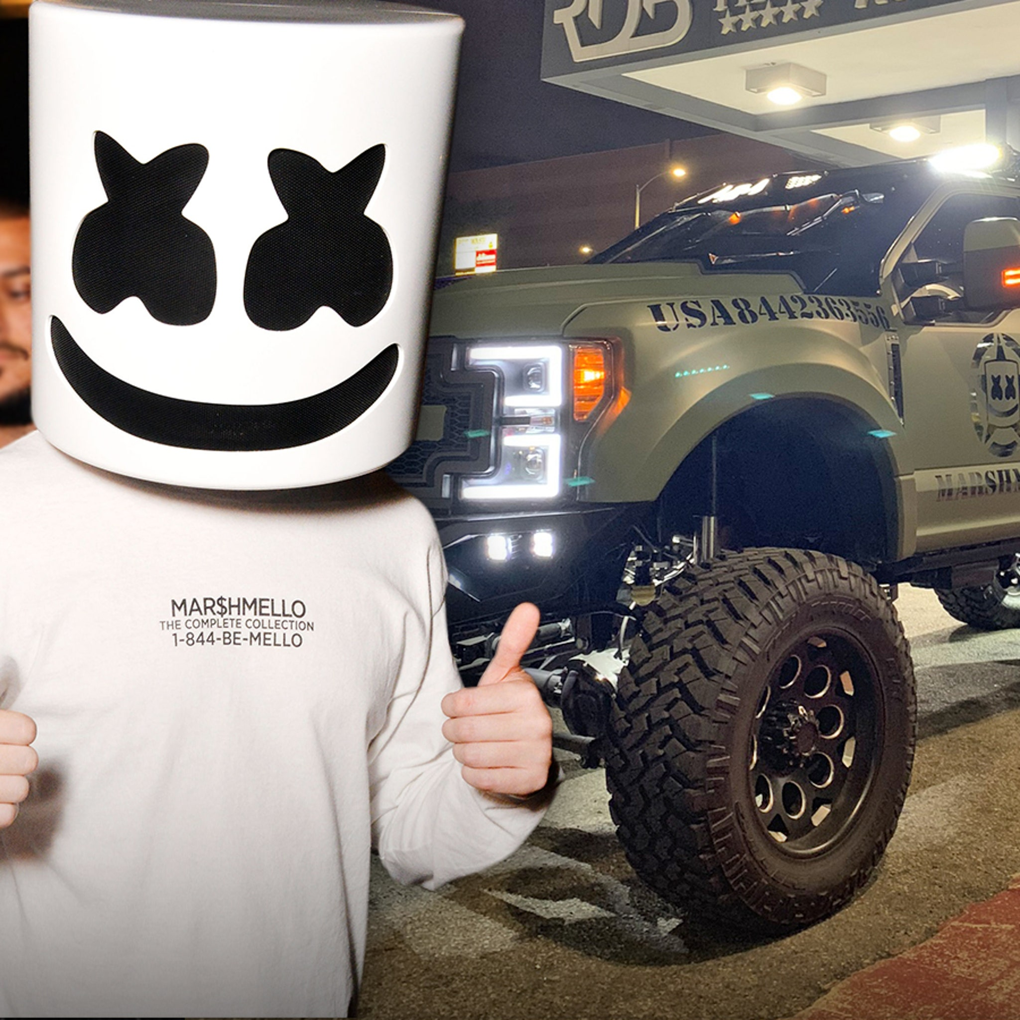 Marshmello Drops $500,000 to Trick Out His Truck Like a Vegas Nightclub