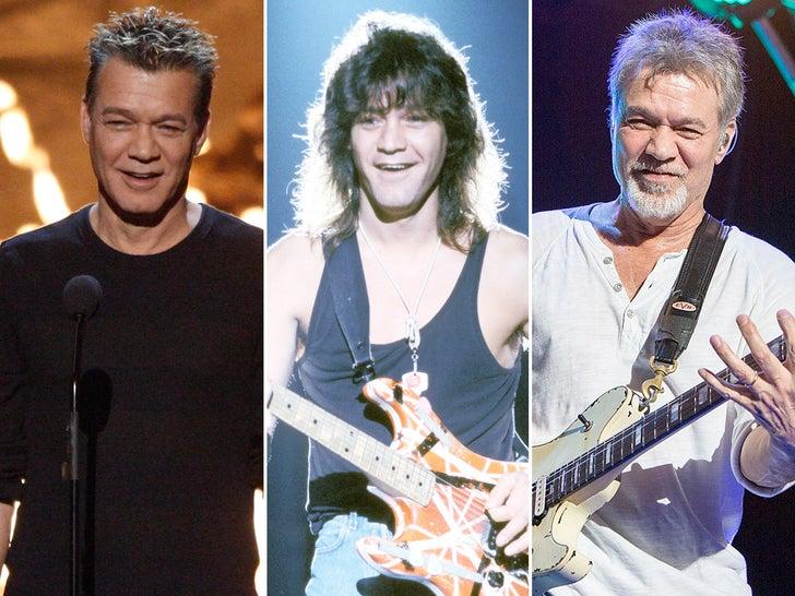 Eddie Van Halen -- Through The Years