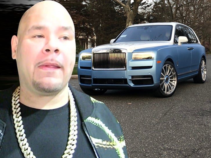 Fat Joe's Custom 2020 Rolls Royce