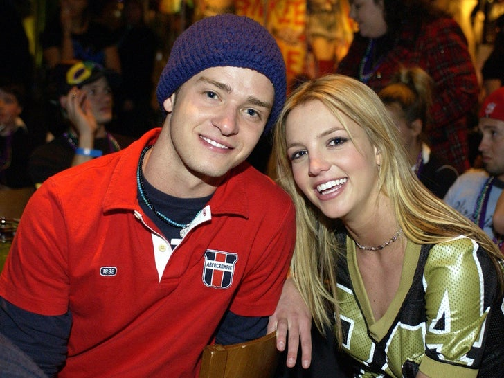 Britney Spears and Justin Timberlake -- Before The Big Breakup