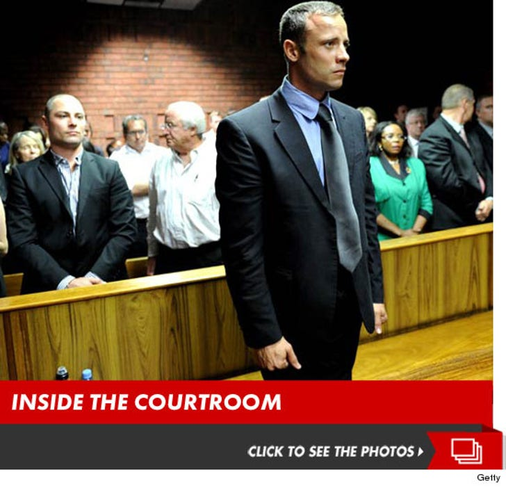 Oscar Pistorius -- Inside the Courtroom