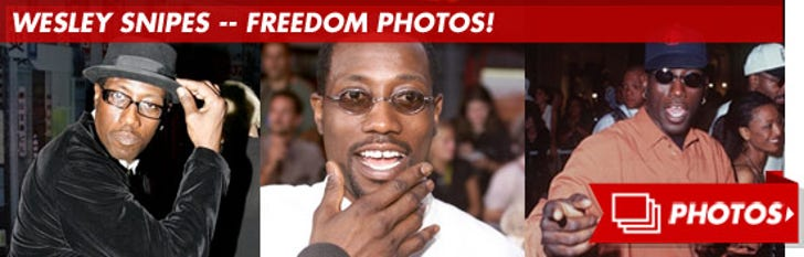Wesley Snipes -- Freedom Photos!