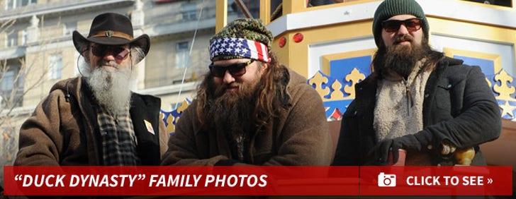"""""""Duck Dynasty"""" Family Photos"""