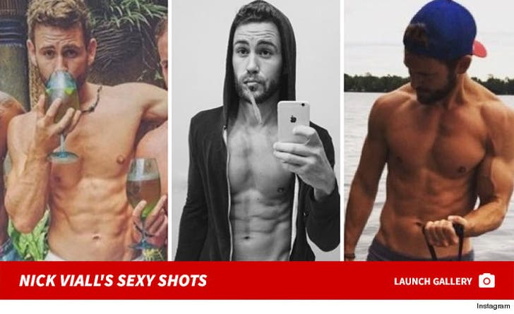 Nick Viall's Shirtless Shots