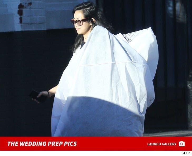 Serena Williams' Wedding Preparations