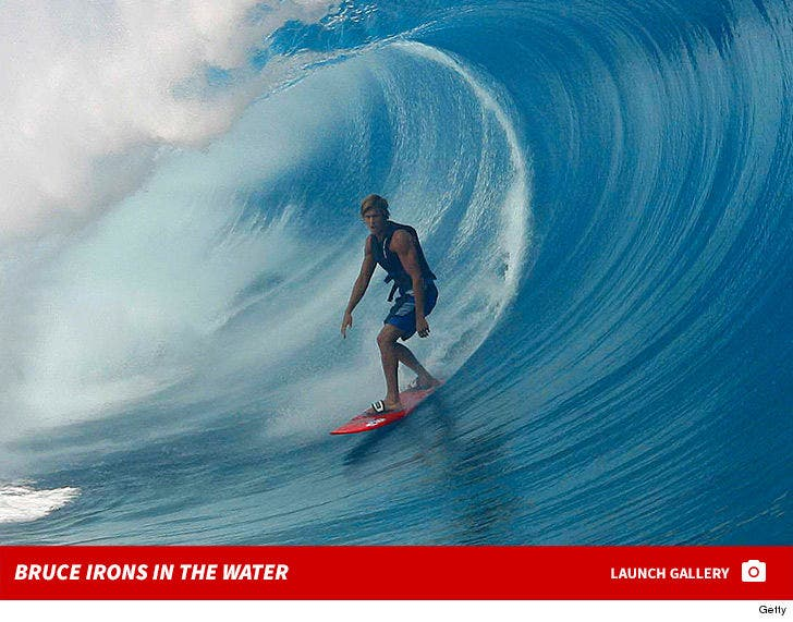 Bruce Irons in the Water