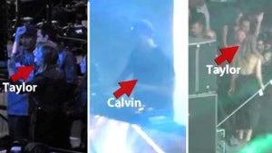 Taylor Swift -- I'm A Dancing Fool for Calvin Harris!!! (VIDEO)