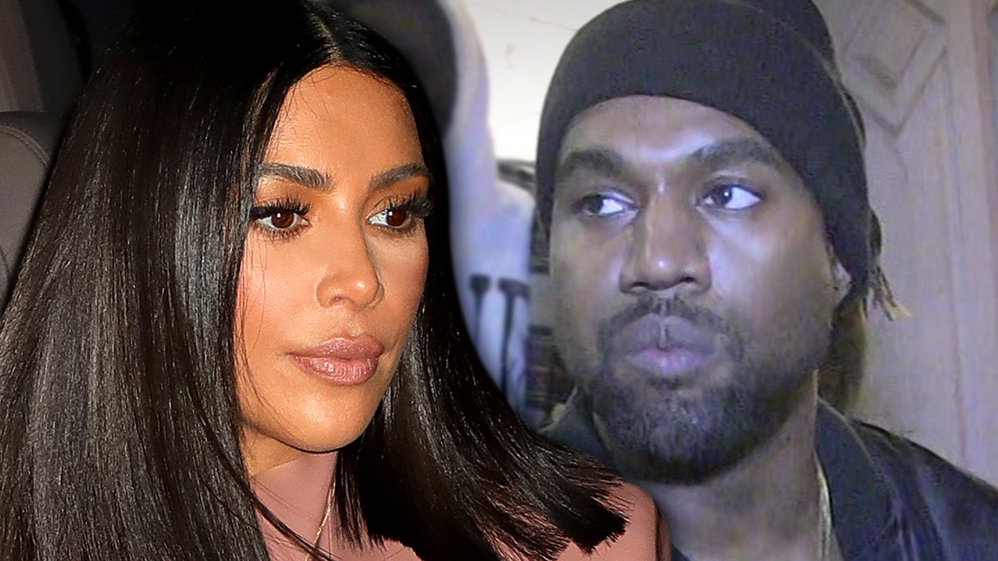 Kim Kardashian and Kanye West in Tropical Island Fortress to Avoid Paparazzi