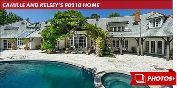 Kelsey and Camille's 90210 Home