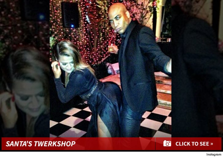 Kris Jenner's Christmas Party