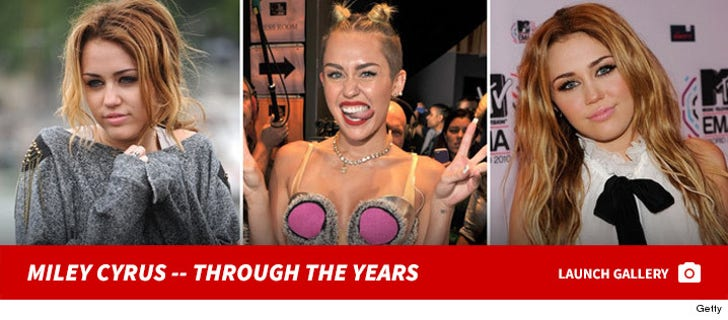 Miley Cyrus -- Through The Years