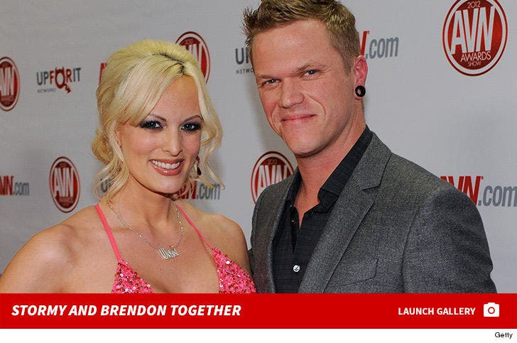 Stormy Daniels and Glendon Crain Together