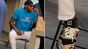 Kawhi Leonard Rocks Unreleased 'Animal Print' New Balance Shoes