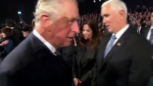 Prince Charles Appears to Snub Mike Pence at World Holocaust Forum