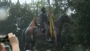 Stonewall Jackson Statue Removed by Crews in Virginia